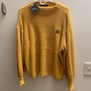 Soft Yellow Sweater